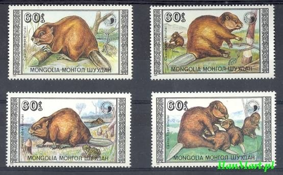 Mongolia 1989 Mi 2021-2024 MNH