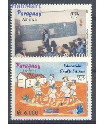 Paragwaj 2002 Mi 4887-4888 Czyste **