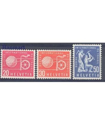 Szwajcaria 1960 Mi 100-102 Czyste **