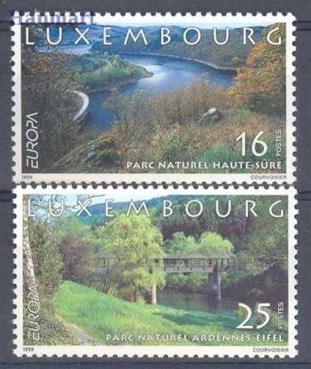Luksemburg 1999 Mi 1472-1473 Czyste **