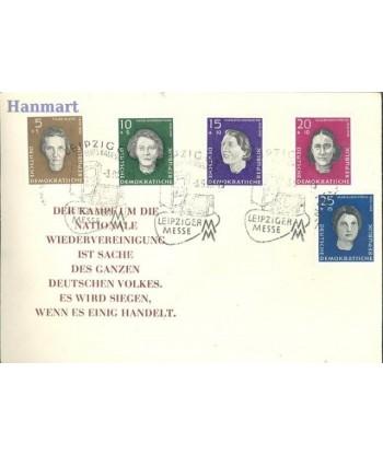 Niemiecka Republika Demokratyczna / DDR 1959 Mi 715-719 FDC