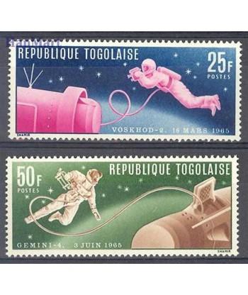 Togo 1965 Mi 487-488 Czyste **