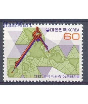 Korea Południowa 1982 Mi 1275 Czyste **