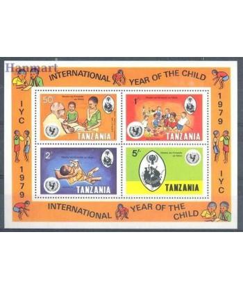 Tanzania 1979 Mi bl 18 Czyste **
