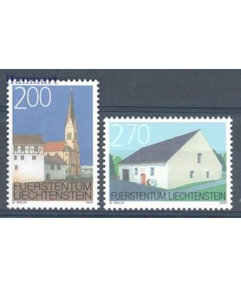 Liechtenstein 2007 Mi 1467-1468 Czyste **