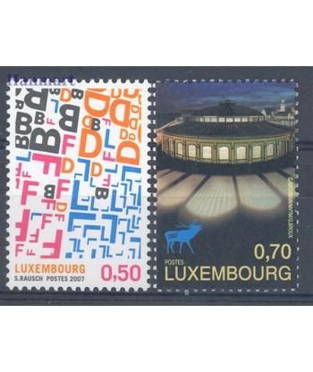 Luksemburg 2007 Mi 1762-1763 Czyste **