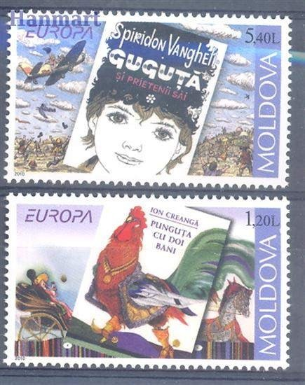 Mołdawia 2010 Mi 703-704 Czyste **