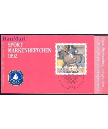 Niemcy 1992 Mi mh 1594 Czyste **