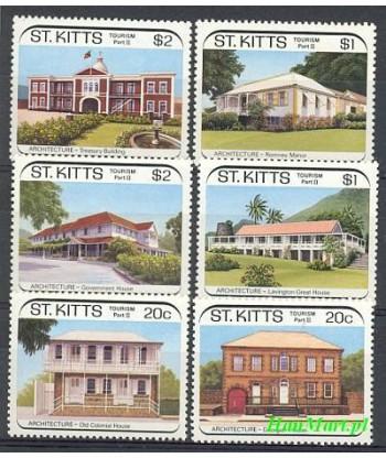 Saint Kitts 1988 Mi 242-247 Czyste **