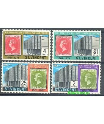 St Vincent 1971 Mi 291-294 Czyste **