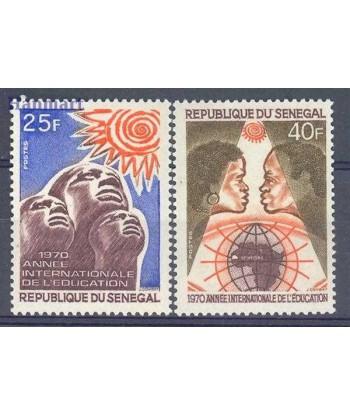 Senegal 1970 Mi 441-442 Czyste **
