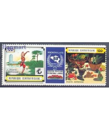 Republika Środkowoafrykańska 1970 Mi 216-217 Czyste **