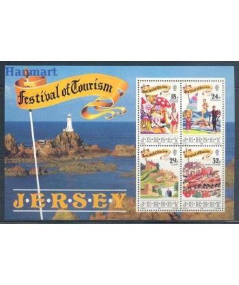 Jersey 1990 Mi bl 5 Czyste **