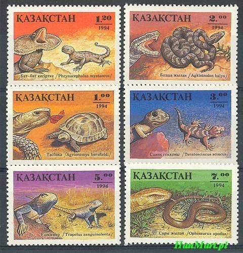 Kazachstan 1994 Mi 51-56 Czyste **