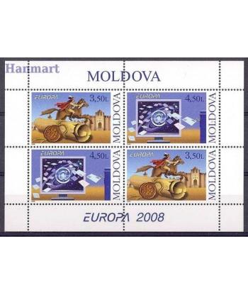 Mołdawia 2008 Mi blatt 9 Czyste **