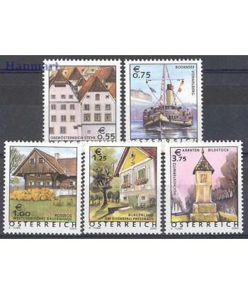 Austria 2003 Mi 2415-2419 Czyste **