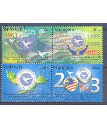 Malezja 2003 Mi 1165-1168 Czyste **