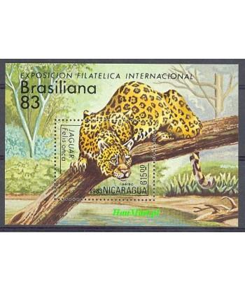 Nikaragua 1983 Mi bl 152 Czyste **
