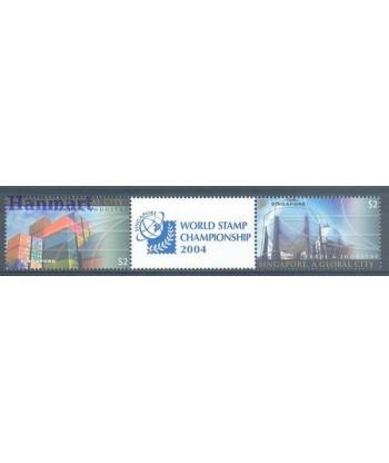 Singapur 2004 Mi 1345-1346 Czyste **
