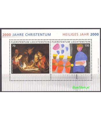 Liechtenstein 2000 Mi bl 17 Czyste **