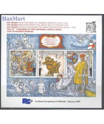 Rumunia 2005 Mi bl 362 Czyste **