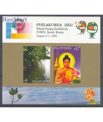 Filipiny 2002 Mi bl 176 Czyste **