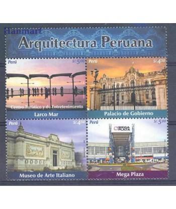 Peru 2005 Mi 2025-2028 Czyste **
