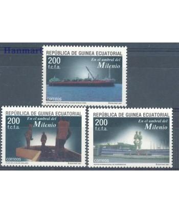 Gwinea Równikowa 2002 Mi 1910-1912 Czyste **