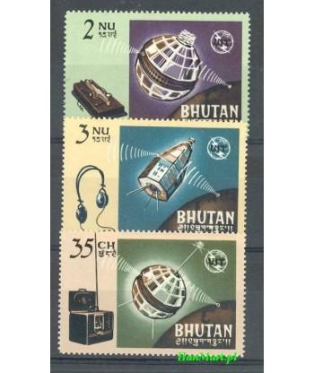 Bhutan 1966 Mi 69-71 Czyste **