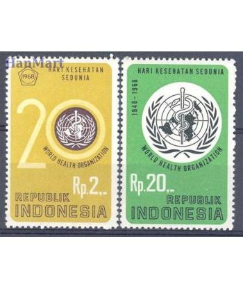 Indonezja 1968 Mi 603-604 Czyste **