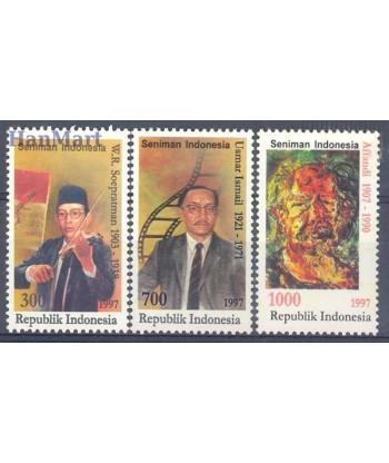 Indonezja 1997 Mi 1691-1693 Czyste **