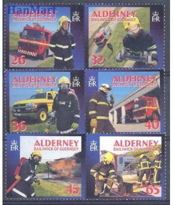 Alderney 2004 Mi 242-247 Czyste **