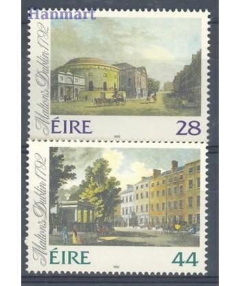Irlandia 1992 Mi 804-805 Czyste **