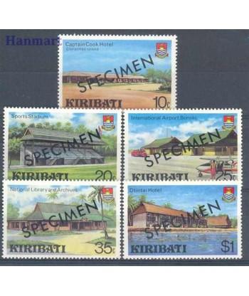 Kiribati 1980 Mi 358-362 Czyste **