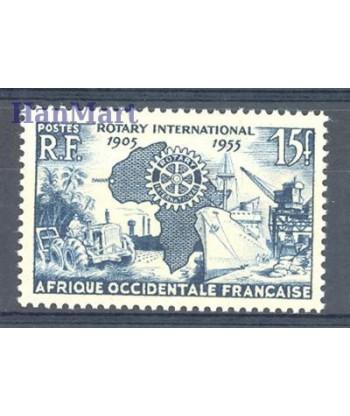 Francuska Afryka Zachodnia 1955 Mi 73 Czyste **