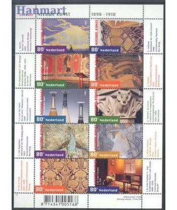 Holandia 2001 Mi ark1885-1894 Czyste **