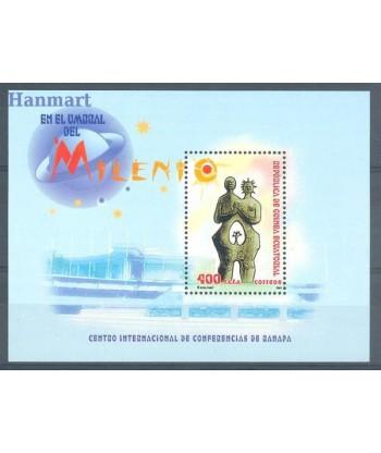 Gwinea Równikowa 2002 Mi bl 334 Czyste **