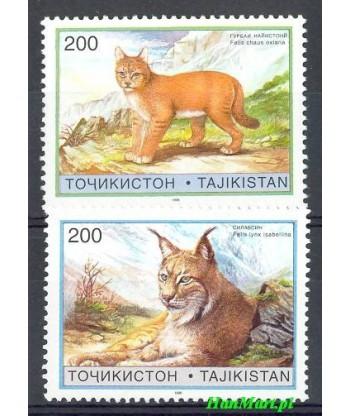 Tadżykistan 1996 Mi 98-99 Czyste **