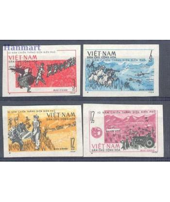 Wietnam 1964 Mi 314-317 Czyste **