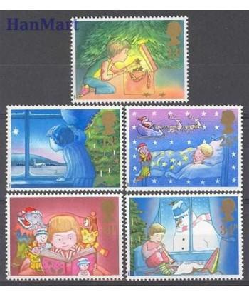 Wielka Brytania 1987 Mi 1126-1130 Czyste **
