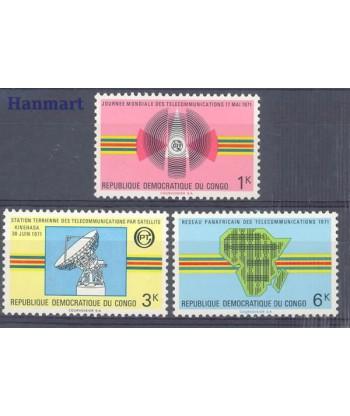 Kongo Kinszasa / Zair 1971 Mi 429-431 Czyste **