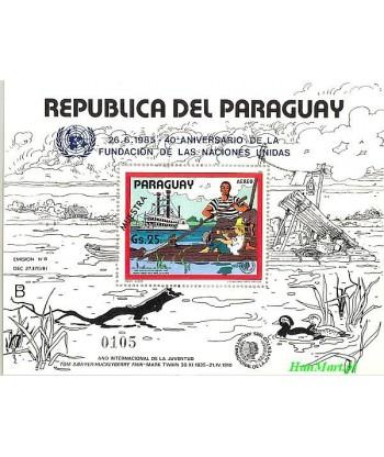 Paragwaj 1985 Mi spebl 417 Czyste **