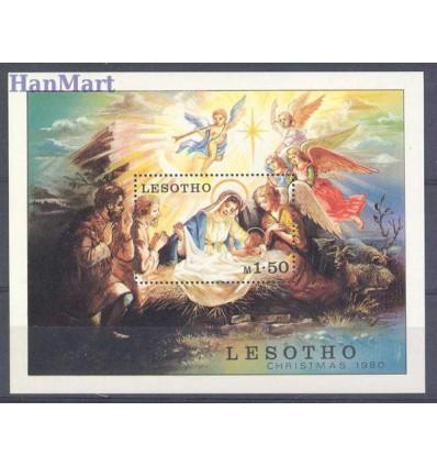 Lesotho 1980 Mi bl 7 Czyste **