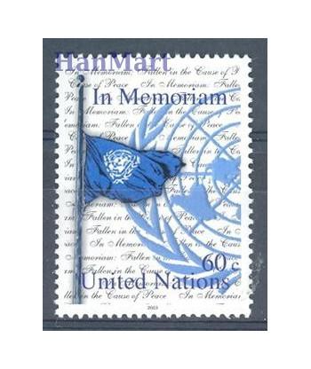 Narody Zjednoczone Nowy Jork 2003 Mi 940 Czyste **