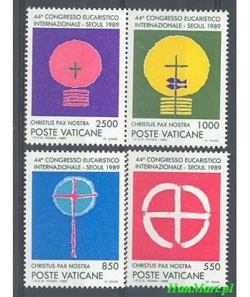 Watykan 1989 Mi 984-987 Czyste **