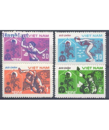 Wietnam 1982 Mi 1268-1271 Czyste **