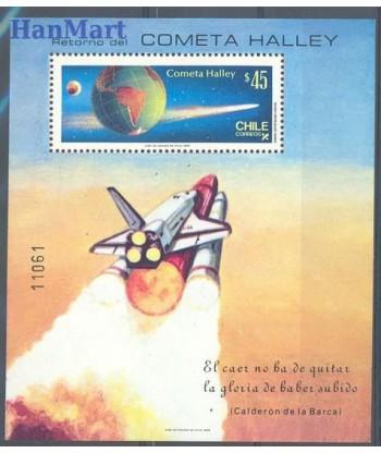 Chile 1985 Mi bl 1 Czyste **