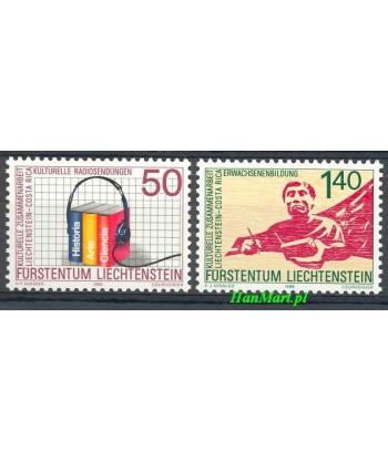 Liechtenstein 1988 Mi 945-946 Czyste **