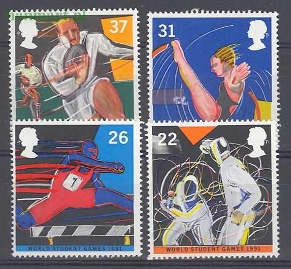 Great Britain 1991 Mi 1341-1344 MNH