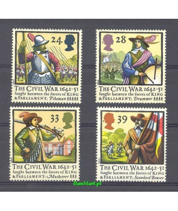Wielka Brytania 1992 Mi 1405-1408 Czyste **